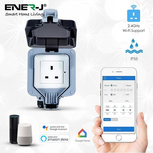 Ener-J Smart WiFi IP55 weatherproof single socket