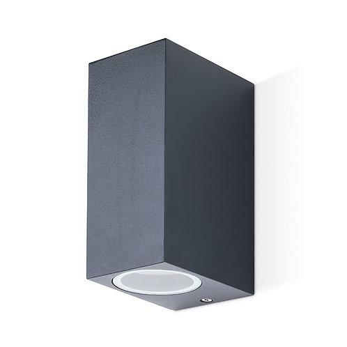 JCC GU10 square up/down wall light