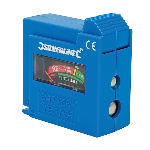 Silverline Compact Battery Tester