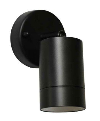 TimeLED Piazza Black GU10 Adjustable Spotlight