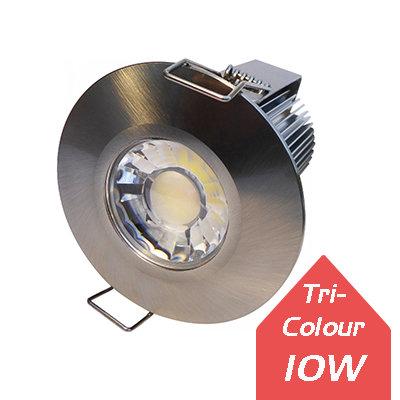 Solo 10W Tri-Colour Fire-Rated Downlight