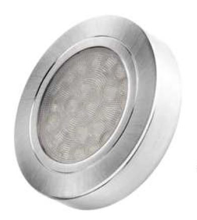 Oval surface mounted 2W under cabinet light