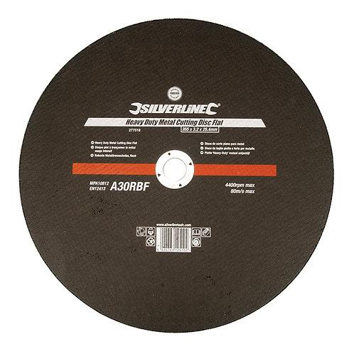 Silverline Heavy Duty Metal Cutting Disc Flat