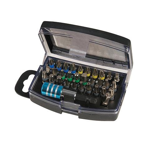 Silverline Colour-Coded Bit Set 32pce