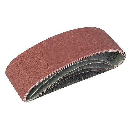 Silverline Sanding Belts 75 x 533mm 5pk