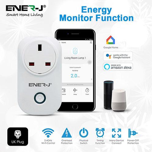 Ener-J WiFi smart plugs with energy monitor