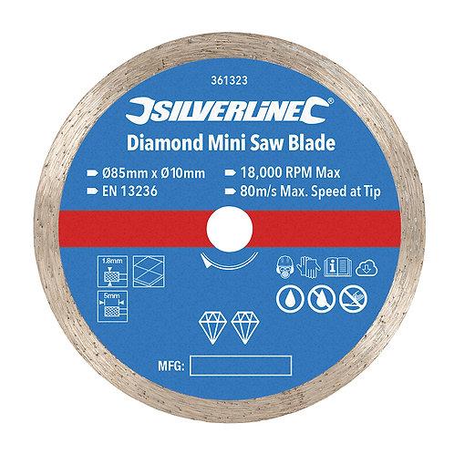 Silverline Diamond Mini Saw Blade