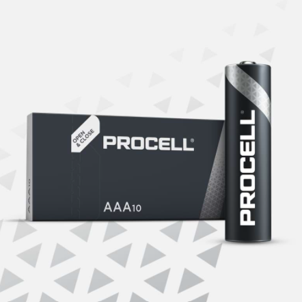 Duracell Procell AAA type 10pk