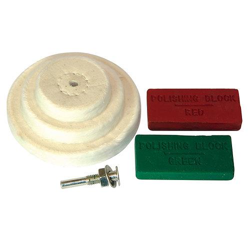 Silverline Polishing Kit 6pce