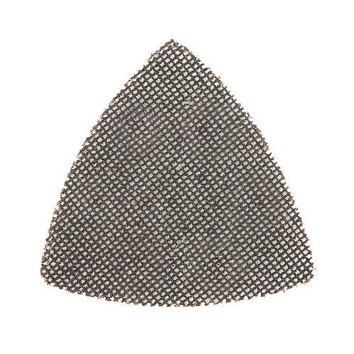Silverline Hook & Loop Mesh Triangle Sheets 105mm 10pk