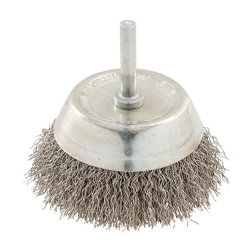 Silverline Rotary Stainless Steel Wire Cup Brush