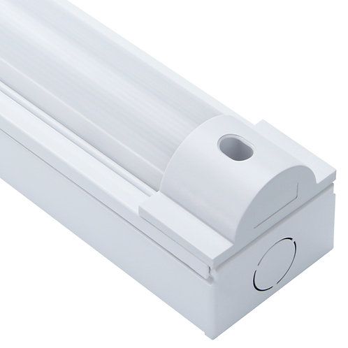Lumineux Sutton 5ft 27W single LED battens are ideal for commercial LED lighting and comes in various colours and versions.
