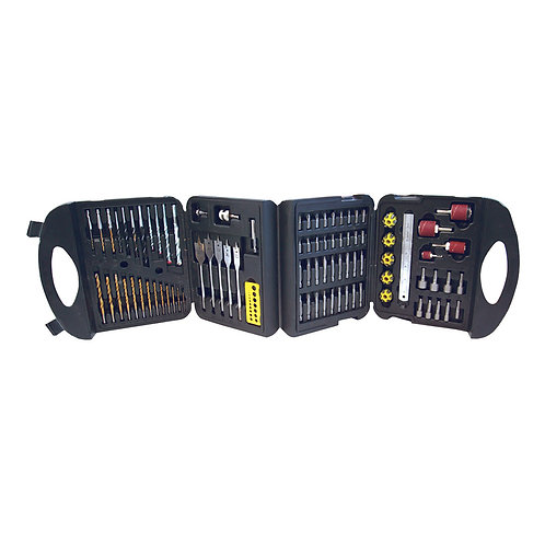 Silverline Assorted Drill Set 113pce