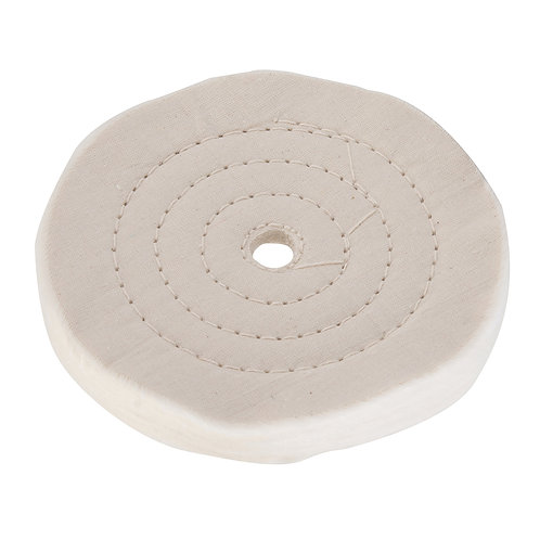 Silverline Double-Stitched Buffing Wheel