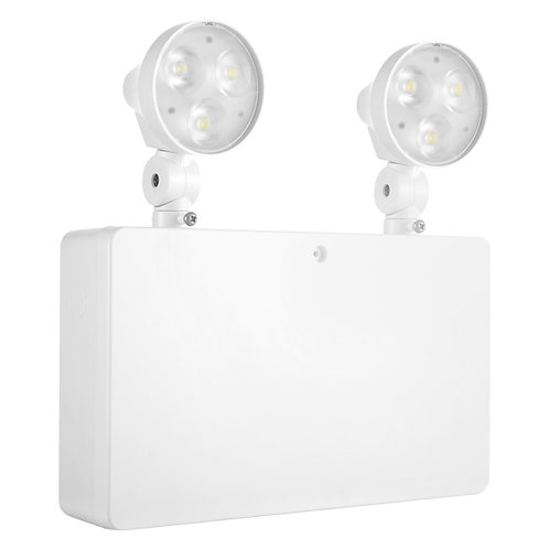 Lumineux Draycote 6W emergency twin-spot IP20