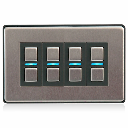 Lightwave smart dimmer 4-gang