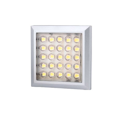 Square 2W under cabinet light