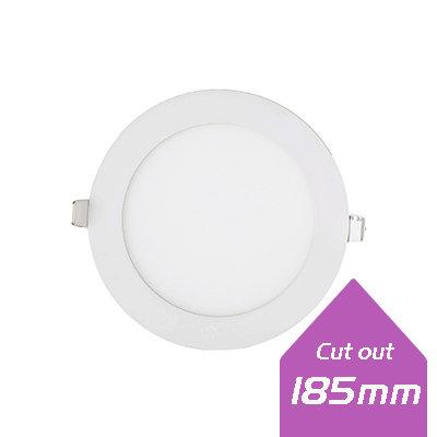 Lumanor LED Round Panels - 18W 8 inch