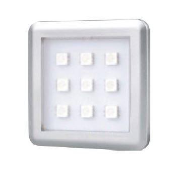 Square 2W RGB under cabinet light