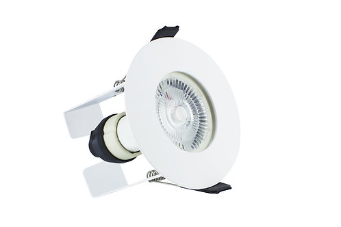 Integral Evo-fire + insulation protection fire-rated downlight