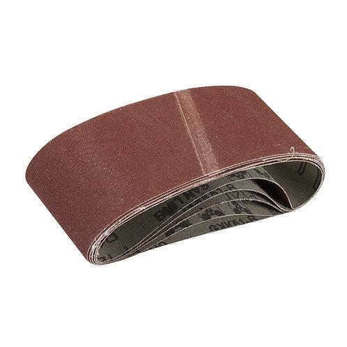 Silverline Sanding Belts 65 x 410mm 5pk