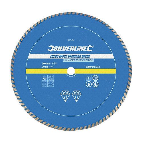 Silverline Turbo Wave Diamond Blade