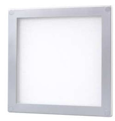 Square surface mounted slim 3W under cabinet light