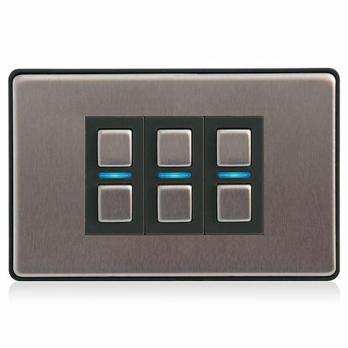 Lightwave smart dimmer 3-gang