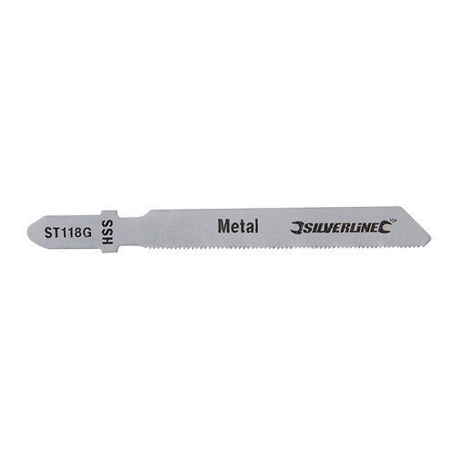 Silverline Jigsaw Blades for Metal 5pk