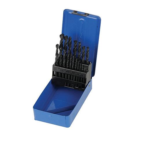 Silverline HSS-R Jobber Drill Bit Set 19pce