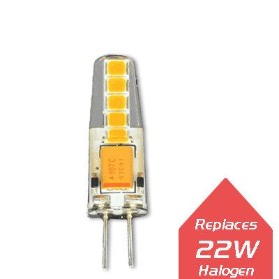 Lumanor Capsule LED Lamps - G4 2W