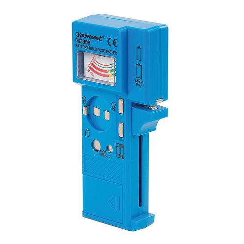 Silverline Battery, Bulb & Fuse Tester