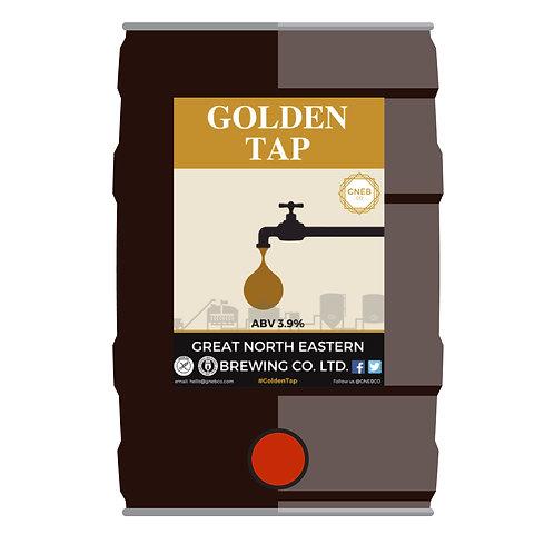 Golden Tap 5l cask conditioned mini keg