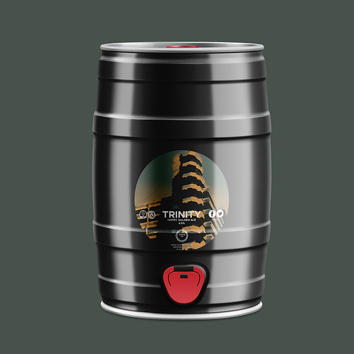 Trinity Golden Ale (4.0%) 5l Mini cask