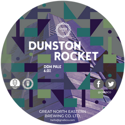 Dunston Rocket DDH Pale 6.0%