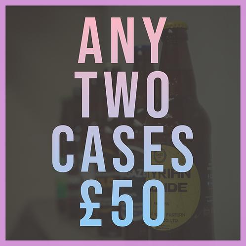 Any 2 (12x500ml) cases - £50