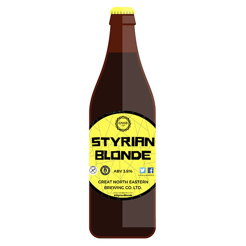 12x500ml Styrian Blonde