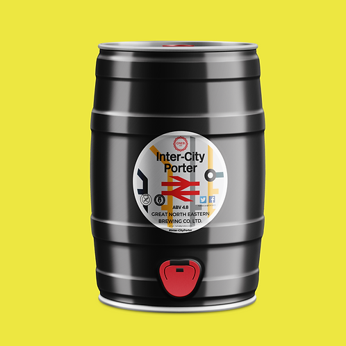 Inter-City Porter 5l mini cask