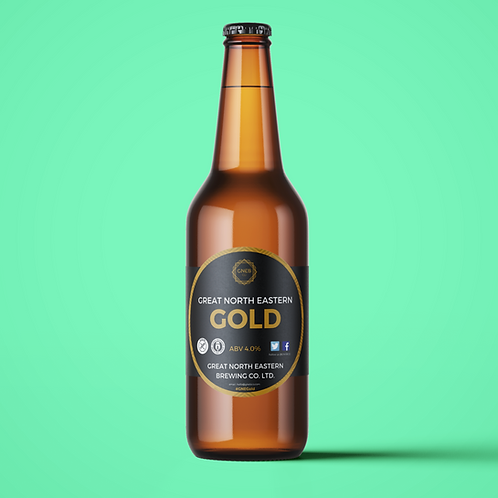12x500ml Great north Eastern Gold