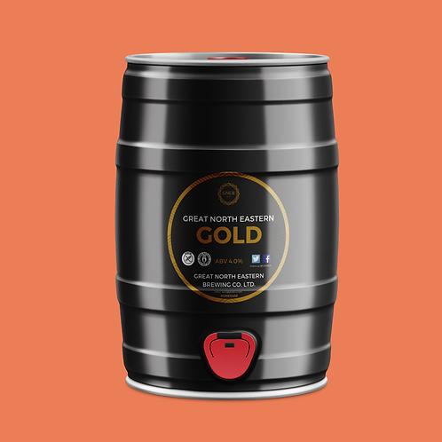 Great North Eastern Gold 5l Mini cask