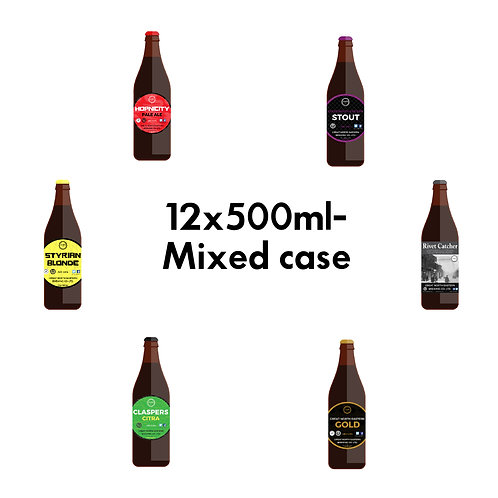 12x500ml Mixed Bottle Cases