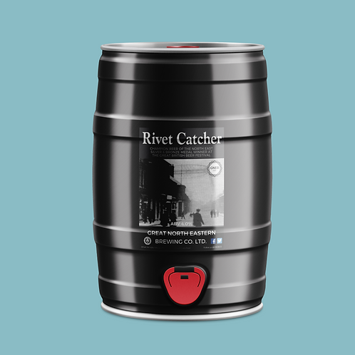 Rivet Catcher 5 litre mini cask