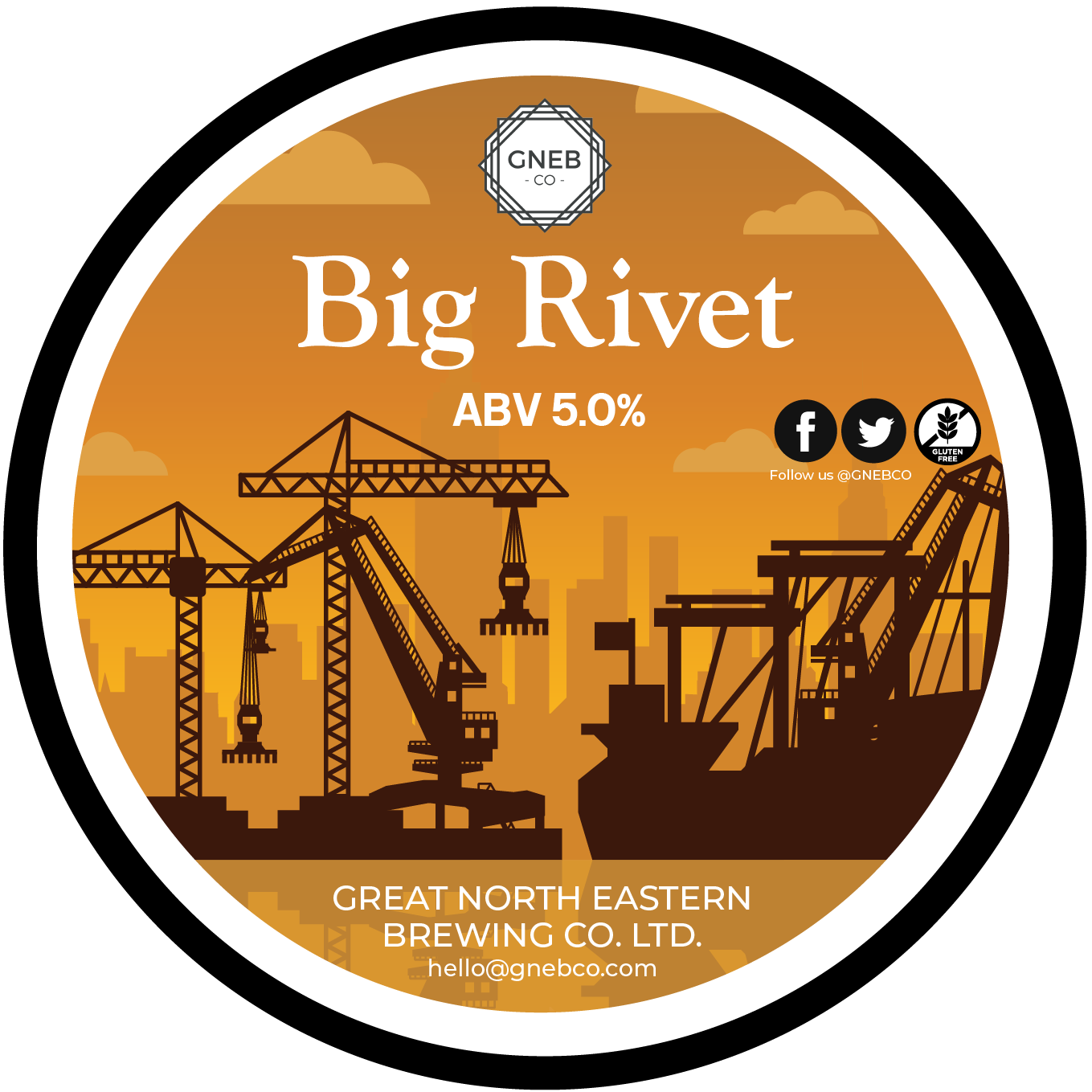 NEW! Big Rivet 5.0%