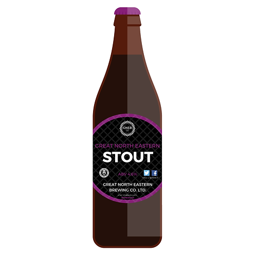 12x500ml Great North Eastern Stout