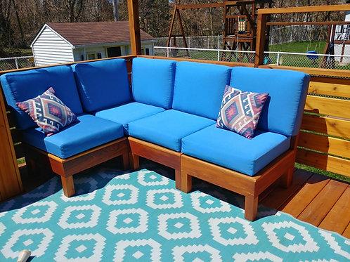 Sofa Modulaire 4 Places  L - sans bras