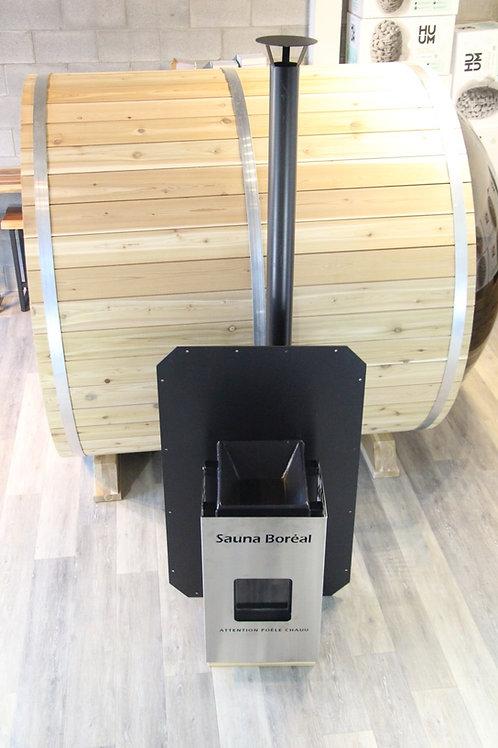 Poêle au Bois pour Sauna