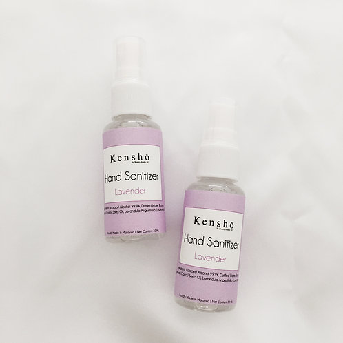 Hand Sanitizer with Lavender Essential Oil