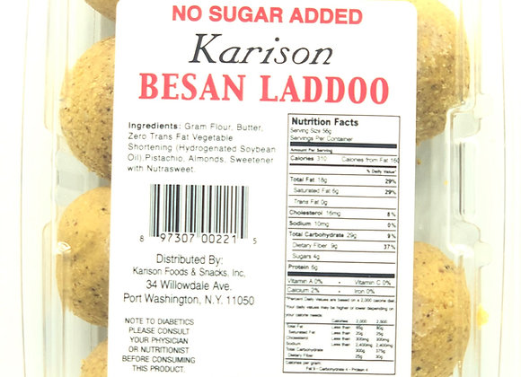 Besan Laddoo (No Sugar)