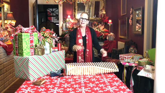We're with Catherine Strange at The Henington House to show you some easy ways to wrap gifts using things you already have and more! If you have any questions for Catherine, please ask in the comments!