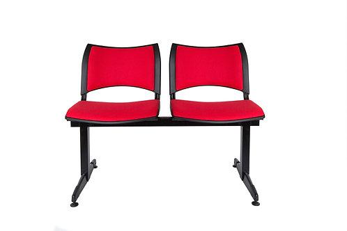 Banqueta Iso Smart 3 asiento y respaldo tapizado pata normal o luna